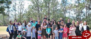 Radfords and Bonells family