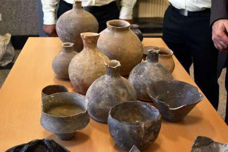کشف اشیای عتیقه با قدمت 5 هزار ساله در بهشهر