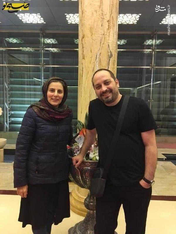 ایرانی بازداشتشده در آمریکا پس از آزادی