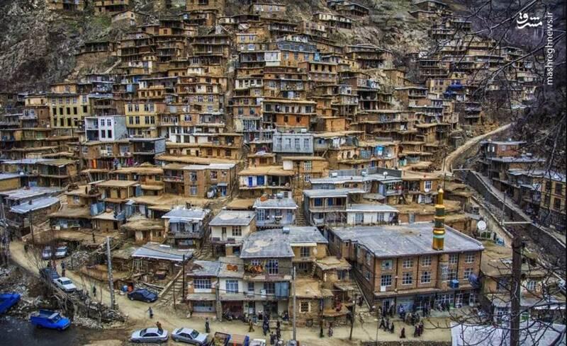 تصویر زیبا از روستای تنگیسر کردستان