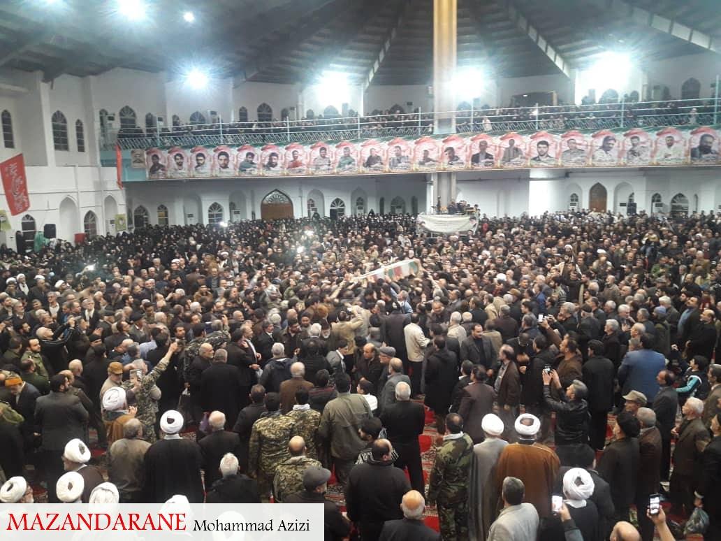 مراسم گرامیداشت حماسه اسلامی 6 بهمن آمل با شکوه برگزار شد