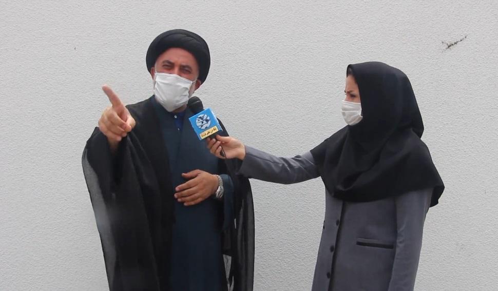 صحبت های تکان دهنده امام جمعه آمل خطاب به معاون وزیر بهداشت