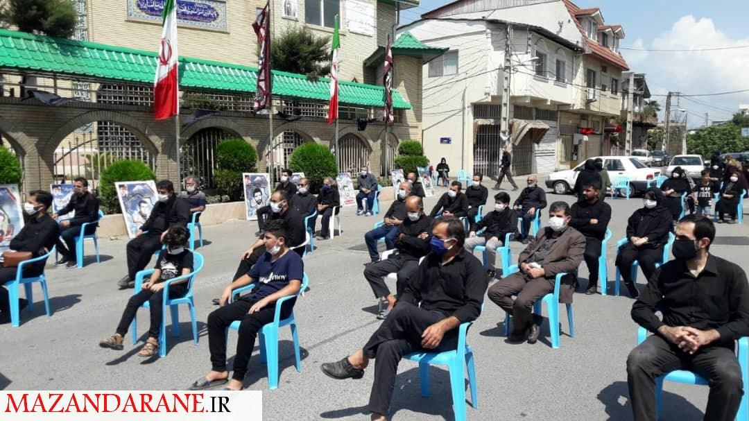 عزاداری روز عاشورا در مسجد سجادیه آمل