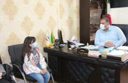 رییس شورای شهر آمل از خبرنگار نوجوان مازندرانه تقدیر و تشکر کرد