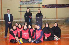 اعزام شیر زنان والیبال نشسته آمل به مسابقات لیگ برتر در اصفهان