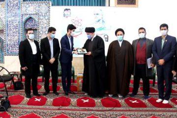 دیدار اعضای مجمع جوانان استان مازندران با امام جمعه شهرستان آمل