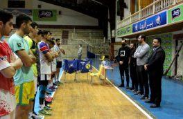برگزاری تمرینات تیم والیبال نوجوانان هراز آمل برای شرکت در لیگ برتر