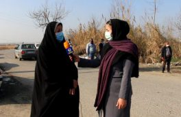 مانور اجرایی مبارزه با بیماری کرونا در روستاهای بخش مرکزی آمل