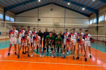 اولین گام قدرتمند تیم والیبال نوجوانان هراز آمل در کاشان برای قهرمانی