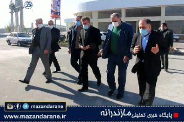 بازدید معاون گمرک ایران از پایانه صادرات برنج آمل